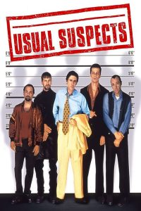 "Affiche du film ""Usual suspects"""