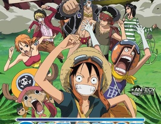 "Affiche du film ""One Piece: Strong World"""