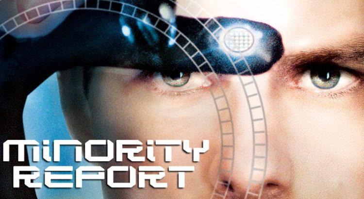 "Affiche du film ""Minority Report"""