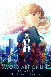 "Affiche du film ""Sword Art Online : Ordinal Scale"""
