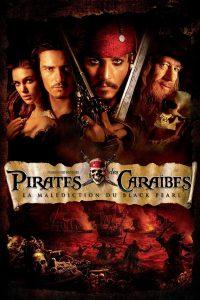 """Affiche du film """"Pirates des Caraïbes : La Malédiction du Black Pearl"""""""