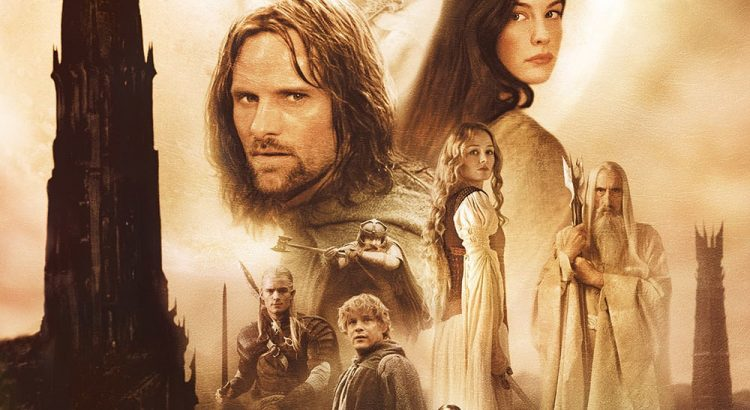 """Affiche du film """"Le Seigneur des anneaux : Les Deux Tours"""""""