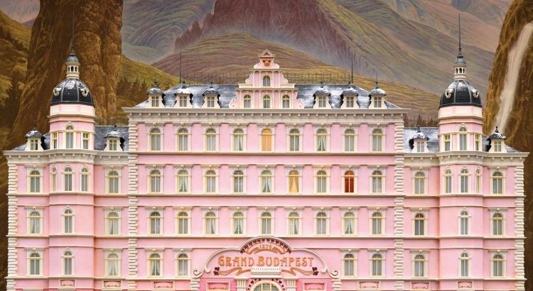 "Affiche du film ""The Grand Budapest Hotel"""