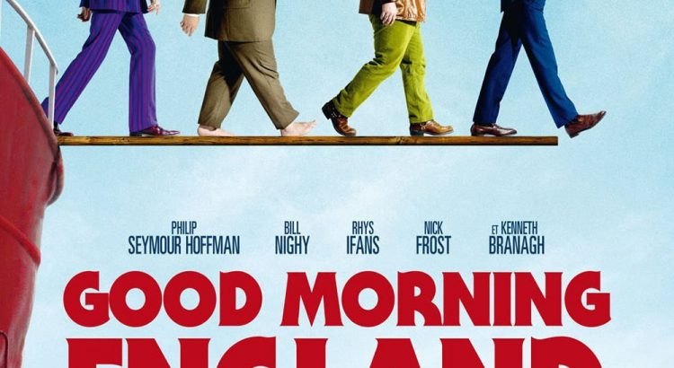 "Affiche du film ""Good morning England"""