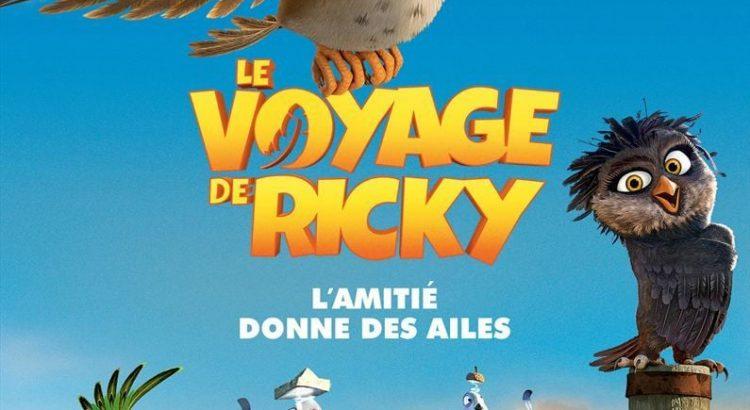 """Affiche du film """"Le Voyage de Ricky"""""""