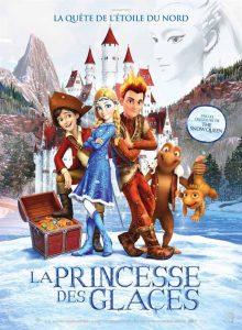 """Affiche du film """"La Princesse des Glaces"""""""