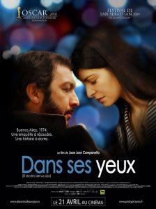 """Affiche du film """"Dans ses yeux"""""""