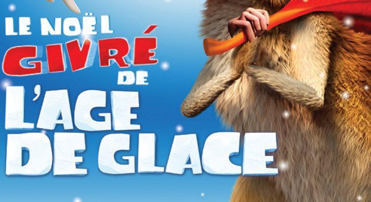 """Affiche du film """"Le Noël givré de l'Âge de glace"""""""