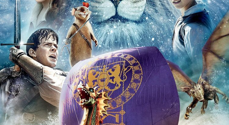"""Affiche du film """"Le Monde de Narnia, chapitre 3 - L'Odyssée du passeur d'aurore"""""""
