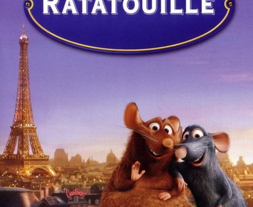 "Affiche du film ""Ratatouille"""