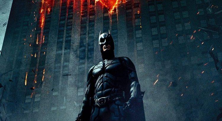 """Affiche du film """"The Dark Knight : Le Chevalier noir"""""""