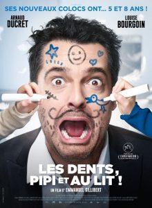 """Affiche du film """"Les dents, pipi et au lit"""""""