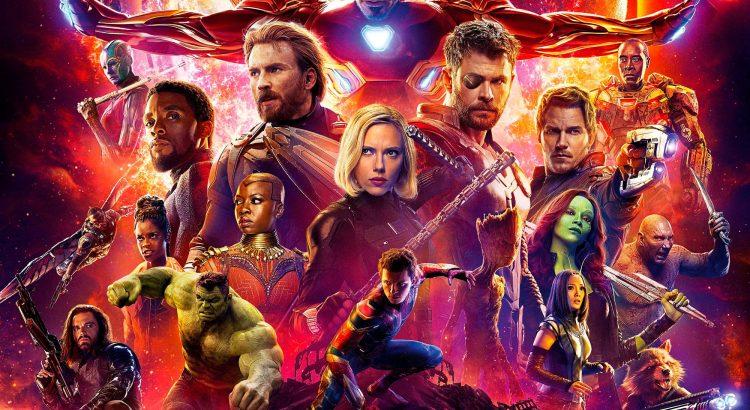 "Affiche du film ""Avengers : Infinity War"""