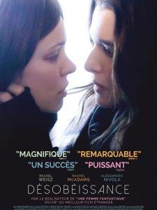 """Affiche du film """"Désobéissance"""""""