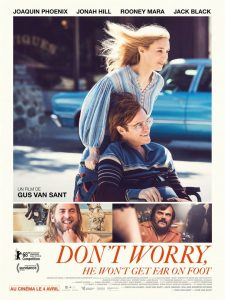 "Affiche du film ""Don't Worry, He Won't Get Far on Foot"""