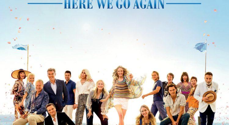"""Affiche du film """"Mamma Mia ! Here We Go Again"""""""