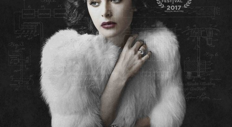 "Affiche du film ""Hedy Lamarr : From Extase to Wifi"""