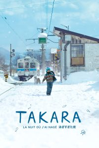 """Affiche du film """"Takara, la nuit où j'ai nagé"""""""