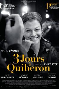 """Affiche du film """"3 jours à Quiberon"""""""