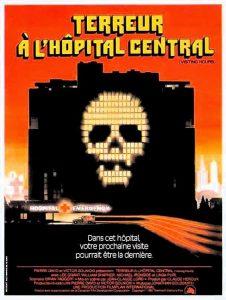 """Affiche du film """"Terreur à l'hôpital central"""""""