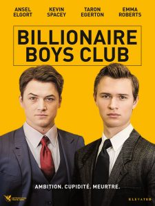 "Affiche du film ""Billionaire Boys Club"""