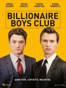 """Affiche du film """"Billionaire Boys Club"""""""