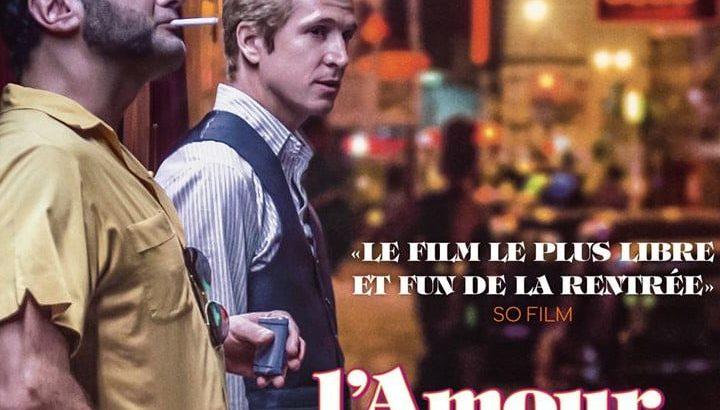"""Affiche du film """"L'amour est une fête"""""""