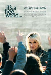 """Affiche du film """"It's a Free World..."""""""