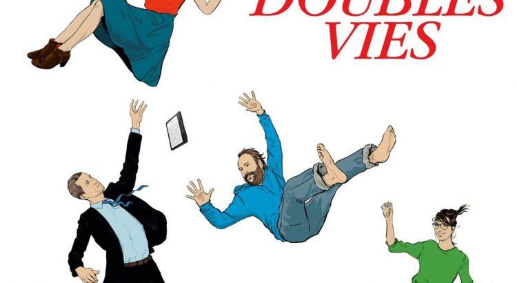 """Affiche du film """"Doubles vies"""""""