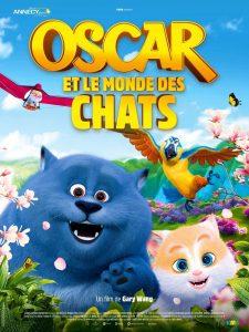 """Affiche du film """"Oscar et le monde des chats"""""""