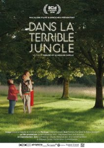 "Affiche du film ""Dans la terrible jungle"""
