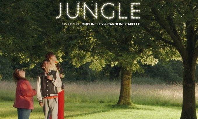 """Affiche du film """"Dans la terrible jungle"""""""
