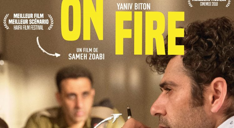 "Affiche du film ""Tel Aviv on Fire"""