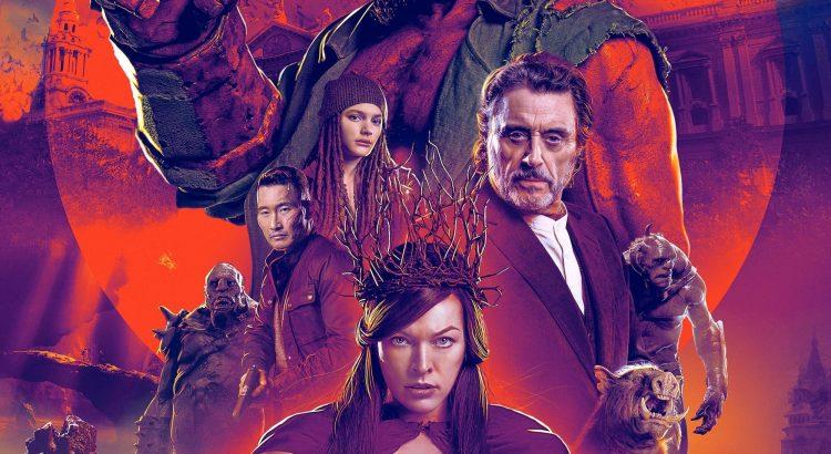 """Affiche du film """"Hellboy"""""""