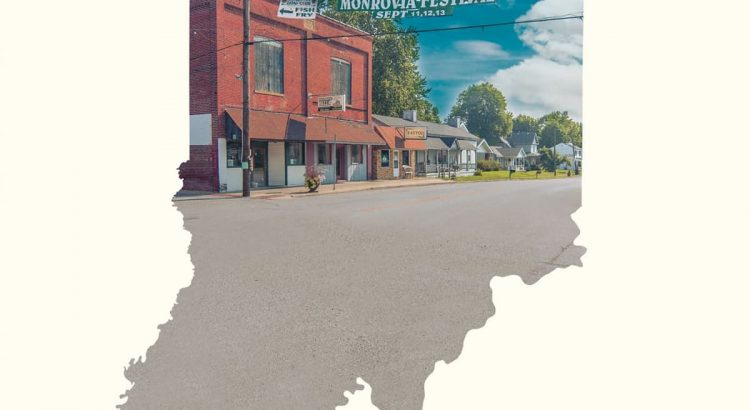 "Affiche du film ""Monrovia, Indiana"""