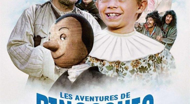 """Affiche du film """"Les aventures de Pinocchio"""""""