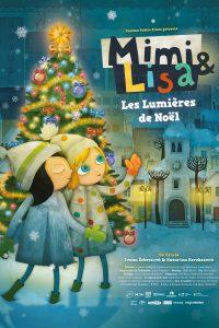 """Affiche du film """"Mimi & Lisa, les lumières de Noël"""""""