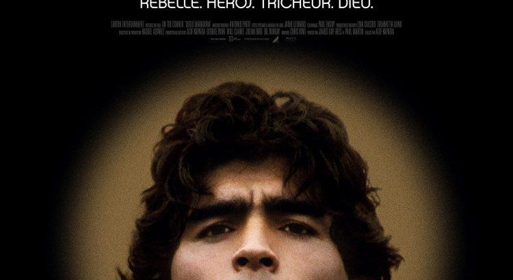 "Affiche du film ""Diego Maradona"""