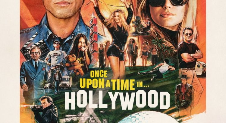 "Affiche du film ""Once Upon a Time… in Hollywood"""