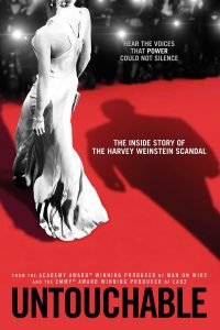 "Affiche du film ""L'Intouchable, Harvey Weinstein"""