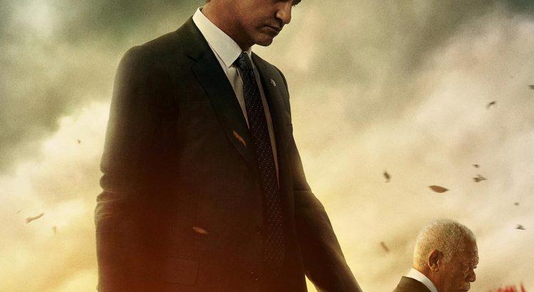 """Affiche du film """"La Chute du président"""""""