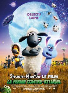 """Affiche du film """"Shaun le mouton le film : la ferme contre-attaque"""""""