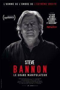 """Affiche du film """"Steve Bannon - Le grand manipulateur"""""""