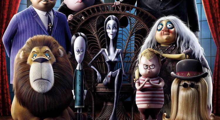 "Affiche du film ""La Famille Addams"""
