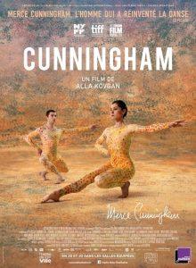 "Affiche du film ""Cunningham"""